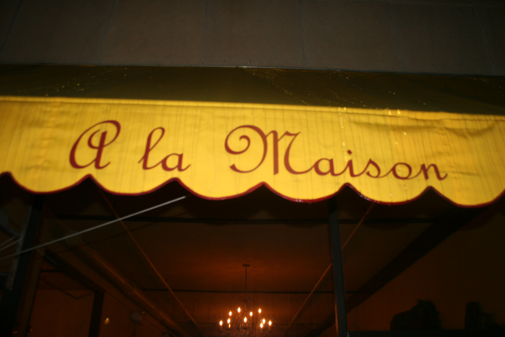 A la maison south jersey wine dine for Ala maison ardmore